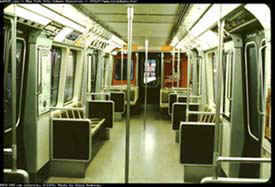 Interior of PA 1 thru PA-4 series cars